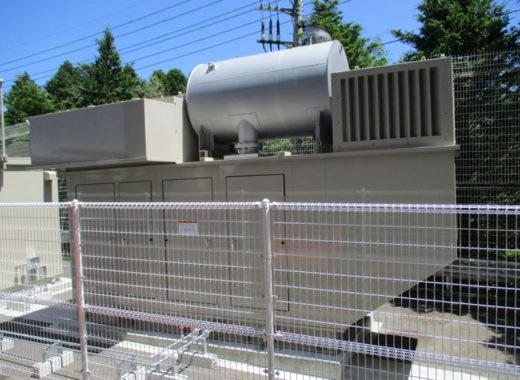 成田ロジスティクスセンターに設置した非常用発電機