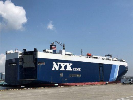 20200805nyk 520x390 - 日本郵船/横浜港大黒ふ頭に完成車ターミナル開設