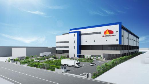(仮称)浦安市港物流センター完成予想図
