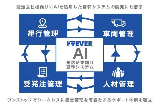 20200807draever 520x346 - ドラEVER/中小運送会社向けのAI基幹システム開発