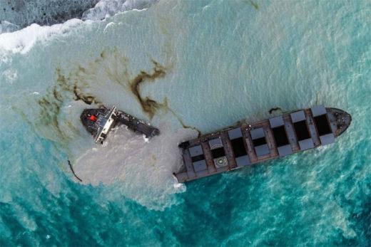 20200817mol0 520x347 - 商船三井/モーリシャス島沖での座礁・油濁発生の船舶が2つに分断