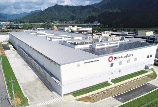 20200819daiwa 520x351 - 大和物流/福井県越前市で2.2万m2の賃貸用物流施設竣工