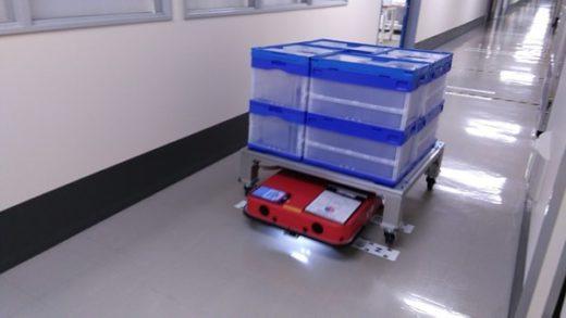 20200820zmp 520x293 - ZMP/セイコーエプソングループ企業のパレット搬送を自動化