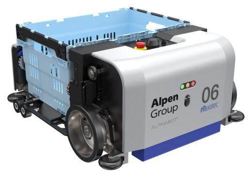 ALPHABOTシステムのロボット台車「BOT」