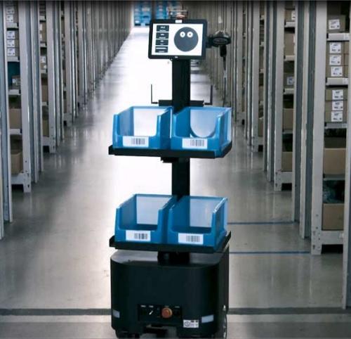 20200826nittsu - 日通/ダイキンのパーツセンター業務にAMR導入