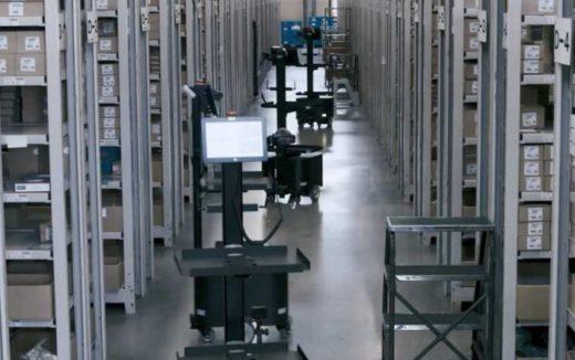 20200826nittsu1 520x326 - 日通/ダイキンのパーツセンター業務にAMR導入