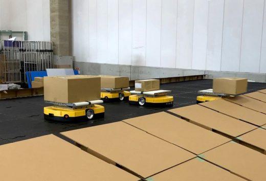 20200827plus 520x354 - +A/重量物対応ソーティングロボットが物流現場で初採用