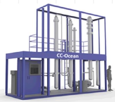 20200831kline - 川崎汽船/船上CO2回収装置開発へ実証試験