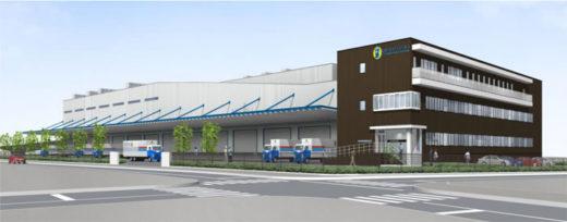 名鉄トラックターミナル関西竣工イメージ図