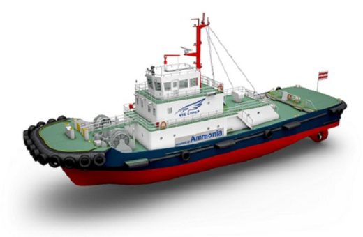 20200903nyk 520x340 - 日本郵船など3社/アンモニア燃料タグボートの研究開発で協業