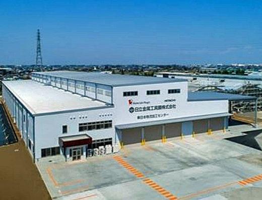埼玉県加須市の日立金属工具鋼の東日本物流加工センター