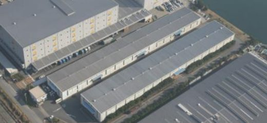 20200914nihonlogifund1 520x239 - 日本ロジ投資法人/浦安物流センター再開発、床面積3.8倍に