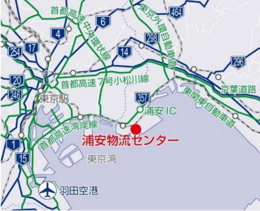 20200914nihonlogifund2 520x423 - 日本ロジ投資法人/浦安物流センター再開発、床面積3.8倍に