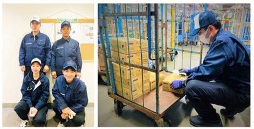 南日本運輸倉庫で働くベトナム人スタッフ
