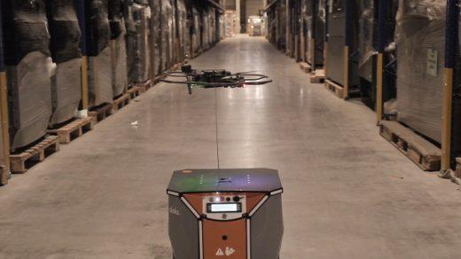 20200918blue 520x292 - ブルーイノベーション/ドローン+AGVで棚卸を完全自動化