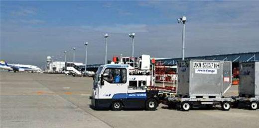 20200925ana21 520x258 - ANA、豊田自動織機/自動運転トーイングトラクターで試験運用