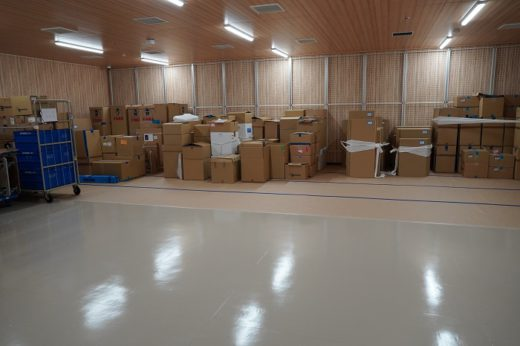 20200929sagawa12 520x346 - 佐川急便/江東区・Xフロンティアで大規模中継センターが稼働