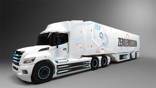 共同で開発するFC大型トラック(イメージ)