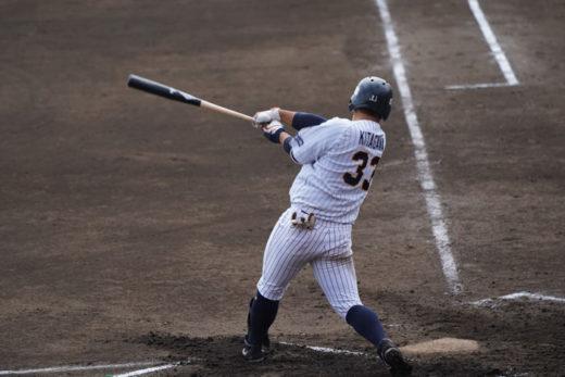 満塁弾を放った北川外野手