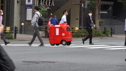 20201007yubin1 520x292 - 日本郵便/日本初の配送ロボット公道走行実験、3年以内に実用化