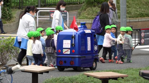 20201007yubin3 520x292 - 日本郵便/日本初の配送ロボット公道走行実験、3年以内に実用化