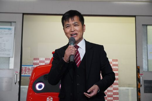 20201007yubin6 520x346 - 日本郵便/日本初の配送ロボット公道走行実験、3年以内に実用化