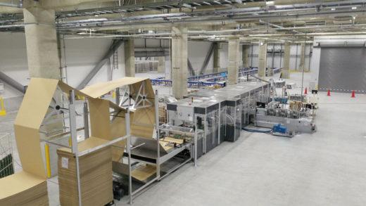 受賞した自動包装システム「Carton Wrap」