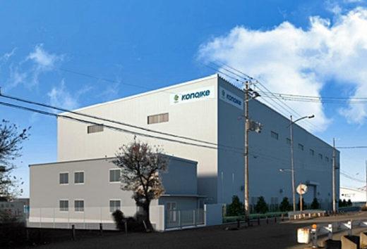 倉庫の外観(完成予想図)画像提供:東洋建設