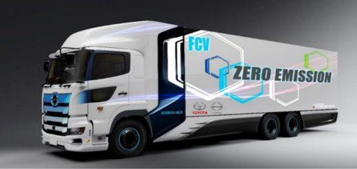 20201013yamato 520x247 - ヤマト、西濃、トヨタ等/2022年にFC大型トラックの走行実証へ
