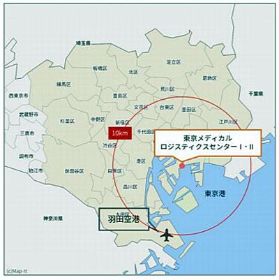 20201013yasuda4 - 安田倉庫/江東区に1.7万m2のメディカル物流に特化した倉庫開設