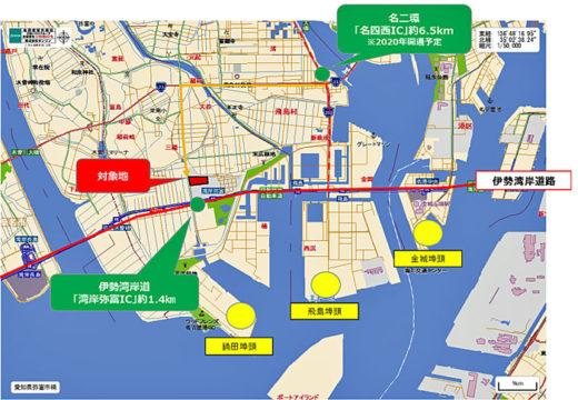 20201014daiwah2 520x360 - 大和ハウス/愛知県弥富市に21万m2のマルチ型物流施設着工