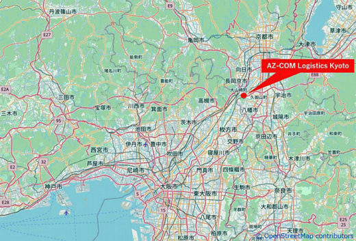 20201014lasalle7 520x353 - ラサール不動産/京都府八幡市に3.8万m2のBTS型物流施設竣工
