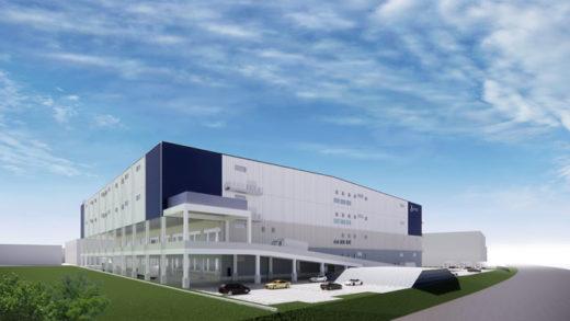 20201016lasalle2 520x293 - ラサール不動産/兵庫県神戸市に約5万m2のマルチ型物流施設着工