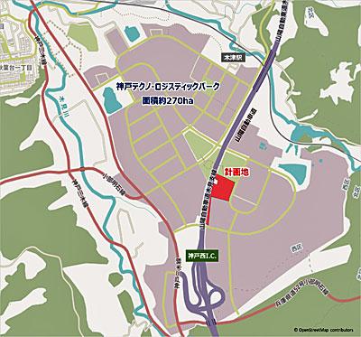20201016lasalle3 - ラサール不動産/兵庫県神戸市に約5万m2のマルチ型物流施設着工