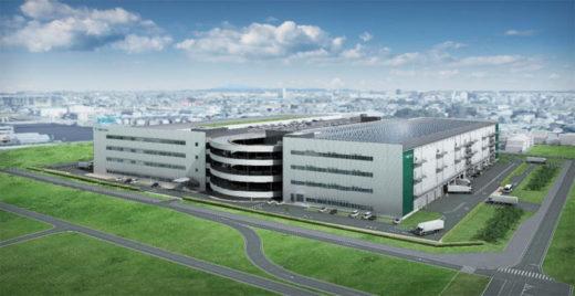 20201019prologis1 520x268 - プロロジス/埼玉県草加市に15.16万m2の食品関連物流施設着工