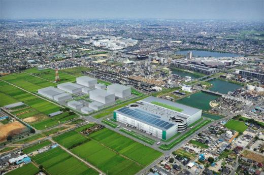 20201019prologis2 520x345 - プロロジス/埼玉県草加市に15.16万m2の食品関連物流施設着工