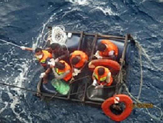 20201021nyk 520x391 - 日本郵船/グループ運航船がインドネシア沖で人命救助