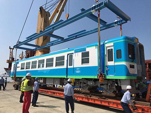 20201023kline 520x391 - 川崎汽船/ミャンマーに鉄道車両の第一便を現地に無事輸送