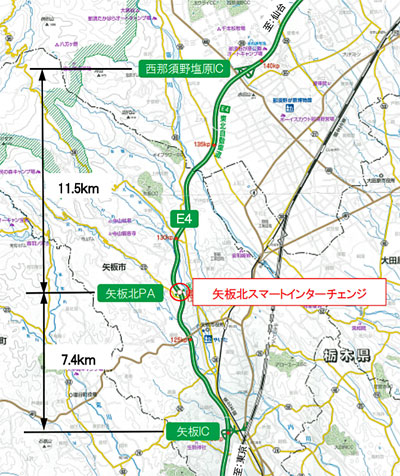 20201023nexcoe1 - NEXCO東日本/東北道矢板北PAに接続するスマートICの名称決定