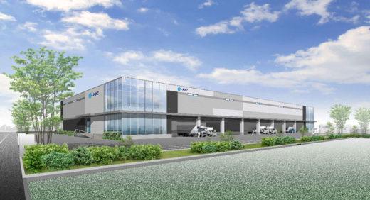KIC海老名ディストリビューションセンター1完成予想図