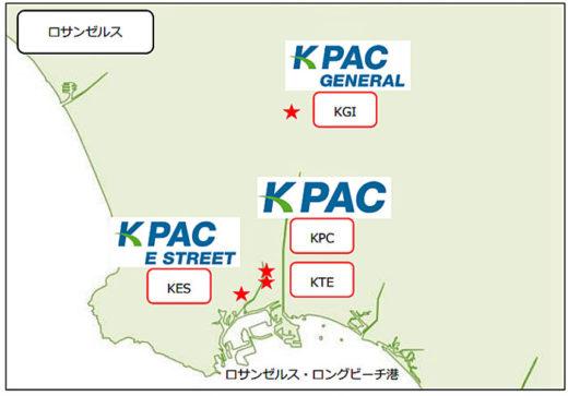 KES、KPC、KGI、KTE の所在地