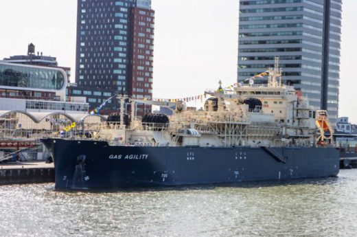 20200923mol 520x345 - 商船三井/世界最大のLNGバンカリング船が燃料供給