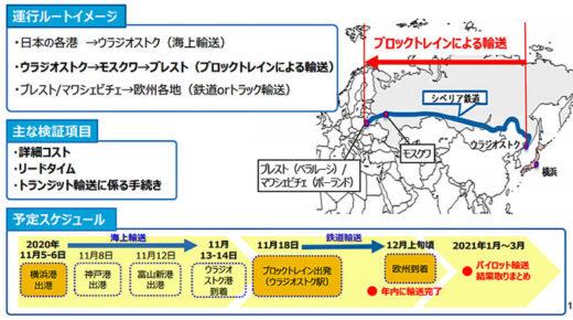 20201102kokkosyo 520x290 - 国交省/シベリア鉄道で日本~欧州間のパイロット輸送を実施