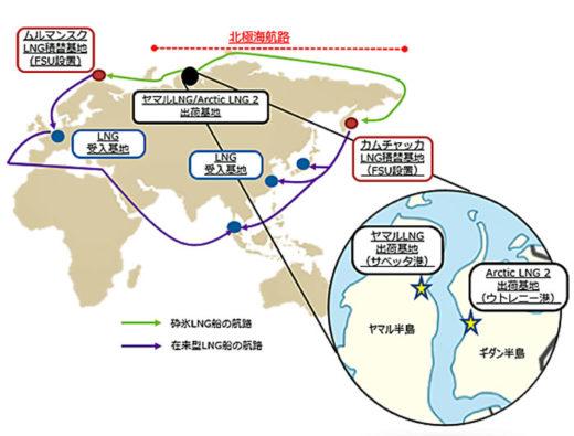 20201102mol1 520x395 - 商船三井/新造砕氷LNG船3隻の定期傭船契約を締結
