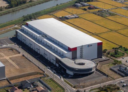 20201104esr1 520x373 - ESR/愛知県愛西市に6.3万m2の物流施設を竣工