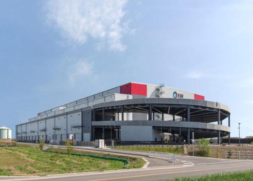 20201104esr2 520x373 - ESR/愛知県愛西市に6.3万m2の物流施設を竣工