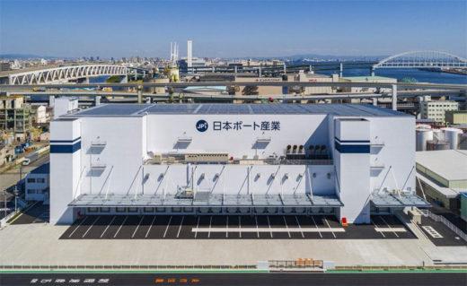 20201116kamigumi 520x319 - 上組/子会社の日本ポート産業が神戸市に新倉庫竣工