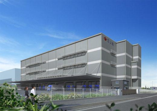 20201116kamigumi2 520x368 - 上組/横浜港の南本牧埠頭に5万m2の新倉庫を建設