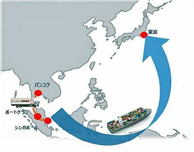 20201117nittsu - 日通/タイ発日本向けBCP対応Truck & Sea輸送サービスを開始