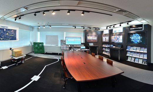 20201118hitachi 520x312 - 日立物流ソフトウェア/本社ビルの来場型ショールームを刷新